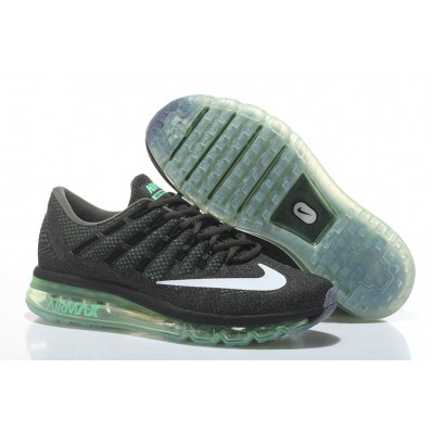 nike air max 2016 black green