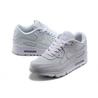 nike air max 90 leather blanco mujer