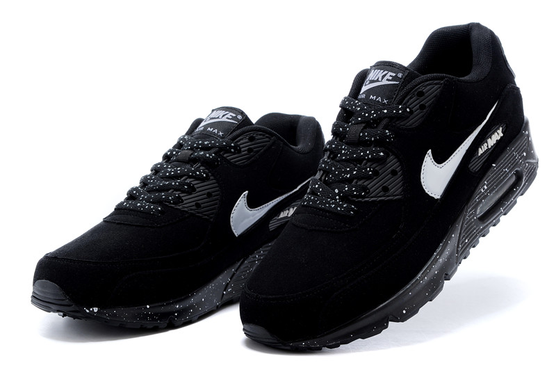 deportivas hombre nike air max 90 leather negras